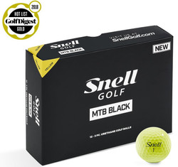 Snell MTB Black Golf Balls