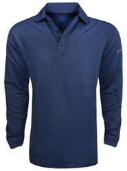 Callaway Golf- Performance Long Sleeve Heathered Polo
