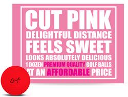 Cut Matte 3-Piece Surlyn Golf Balls