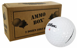 Wilson Staff Mix Mint Used Recycled Golf Balls *3-Dozen*