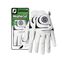 FootJoy Golf- Ladies LLH WeatherSof Glove (2 Pack)