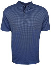 Callaway Golf- Printed Gingham Polo
