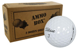 Titleist Pro V1 Fair Recycled Used Golf Balls *36-Ball Ammo Box*