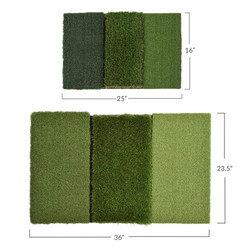 Rukket Golf Mat Attack Tri-Turf Hitting Mat