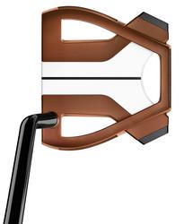 TaylorMade Golf- Spider X Copper/White Single Bend W/SightLine Putter