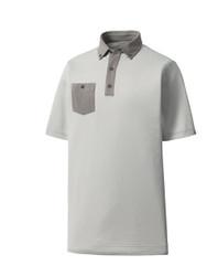 FootJoy Golf- Anaheim Birdseye Jacquard Buttondown Polo