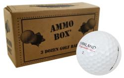 Kirkland Signature Mix Fair Recycled Used Golf Balls [36-Ball]