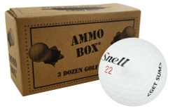Snell Assorted Mix Fair Recycled Used Golf Balls *3-Dozen*