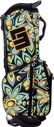Loudmouth Golf- Shagadelic Black Stand Bag