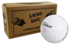 Titleist Surlyn Overrun Golf Balls *12-Ball Ammo Box*