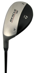 Pre-Owned TaylorMade Golf Rescue Mid Hybrid (Left Hand)