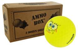 Wilson Spongebob Mint Used Recycled Golf Balls *3-Dozen*