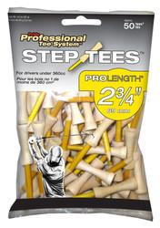 "PrideSports Golf- 2 3/4"" Step Golf Tees (50 Count)"