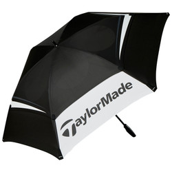 "TaylorMade Golf- 68"" Double Canopy Umbrella"