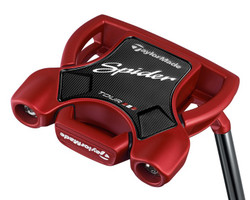 Pre-Owned TaylorMade Golf Spider Tour Red Putter (Left Hand)