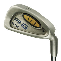 Pre-Owned Ping Golf i3 Blade Irons (8 Iron Set)