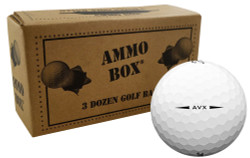 Titleist AVX Near Mint Recycled Used Golf Balls *36-Ball Ammo Box*
