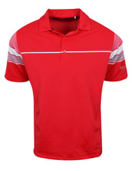 Callaway Golf- Engineered Stripe Block Polo