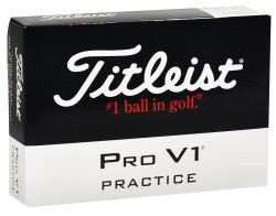 Titleist Pro V1x Mix Practice Golf Balls