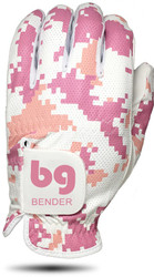 Bender Gloves- MLH Mesh Glove Digital Pink Camo