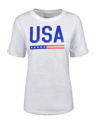Under Armour Ladies Americana Collection Performance T-Shirt