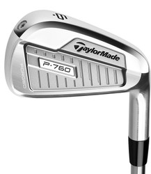 Pre-Owned TaylorMade Golf P760 Irons (7 Iron Set)