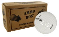 Assorted Crystal Mix Mint Recycled Golf Balls *3-Dozen*