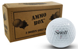 Snell MTB Red Near Mint Used Recycled Golf Balls *3-Dozen*