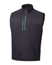 FootJoy Golf- Quarter Zip Heather Blocked Vest