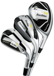 Tour Edge Golf- Hot Launch HL4 Triple Combo Irons Graphite (7 Club Set)