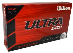 Wilson Ultra 500 Straight Golf Balls [15-Ball]