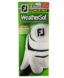 FootJoy Golf- Prior Generation MLH WeatherSof Golf Gloves (2 Pack)