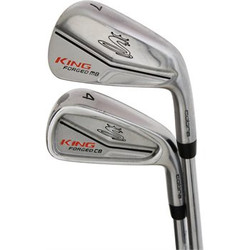 Pre-Owned Cobra Golf King Forged CB/MB Irons (8 Iron Set)