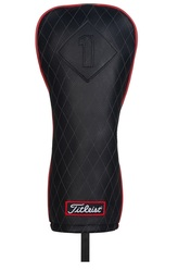 Titleist Golf- Jet Black Leather Driver Headcover