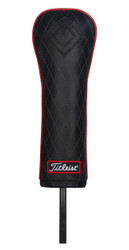 Titleist Golf- Jet Black Leather Fairway Headcover