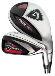 Pre-Owned Callaway Golf Razr X HL Combo Irons (8 Club Set)