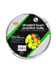 Jef World of Golf- Metal Range Bucket w/ Foam Balls