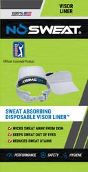 NoSweat PGA Tour Visor Liners (6-Pack)