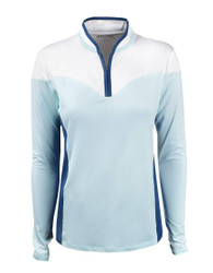Etonic Golf- Ladies Long Sleeve Sweetheart 1/4 Zip Pullover