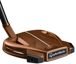 Pre-Owned TaylorMade Golf Spider X Copper Small Slant W/Sightline Putter (Left Handed)