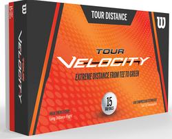 Wilson Tour Velocity Distance Golf Balls 15-Pack