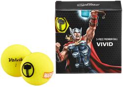 Volvik Marvel Edition Vivid Golf Balls (4-Pack)