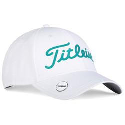 Titleist Golf- Performance Ball Marker Cap White Collection