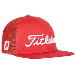 Titleist Golf- Tour Flat Bill Mesh Cap Trend Collection
