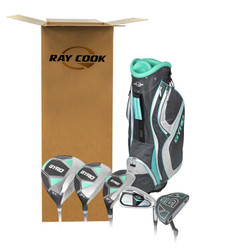 Ray Cook Golf- Ladies Gyro Complete Set With Bag [OPEN BOX]