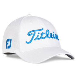 Titleist Golf- Tour Sports Mesh Cap White Collection