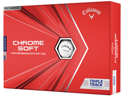 Callaway Chrome Soft Triple Track Golf Balls