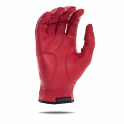 Bender Gloves- MLH Elite Cabretta Leather Glove Red