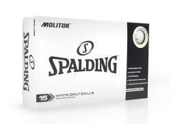 Spalding Molitor Golf Balls [15-Ball] LOGO ONLY