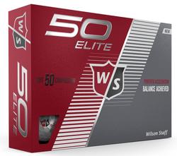 Wilson Staff Fifty Elite Golf Balls LOGO ONLY